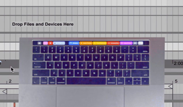 Download a free MacBook Pro Touch Bar preset for Ableton Live