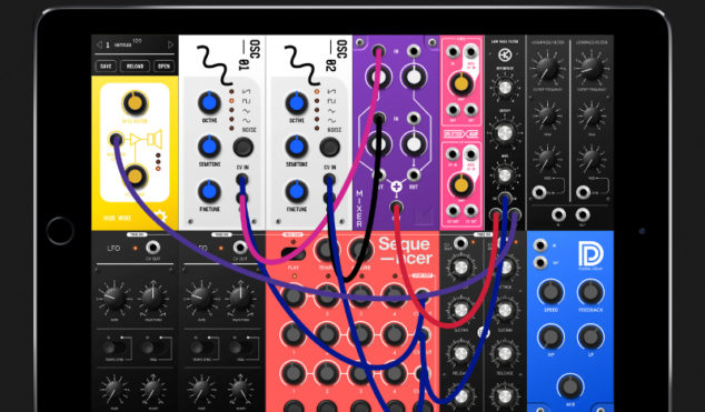 S-Modular is a simple semi-modular synth app for iPad