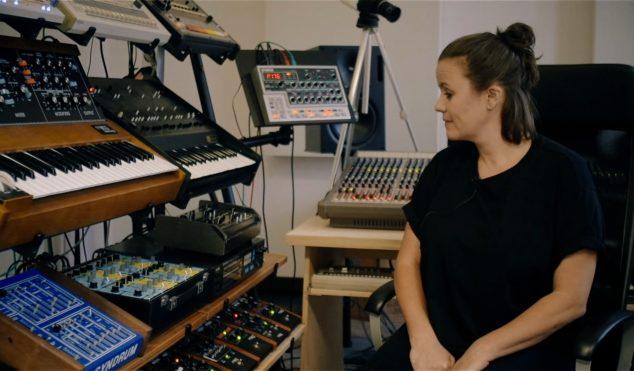 Steffi –  In The Studio