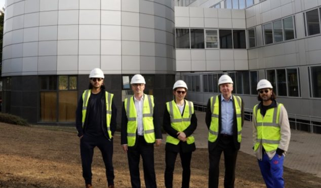 """Jai Paul is turning an old BBC building into a huge """"creative space"""""""