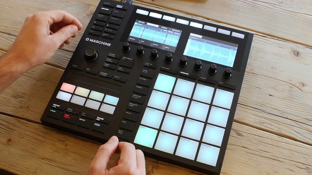 NI's Maschine is getting a time-stretching mode in 2.7 update