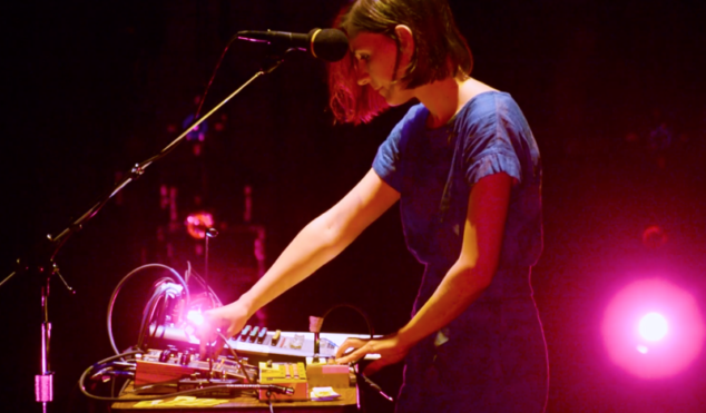 This video of Colleen's live setup will convince you that less is more