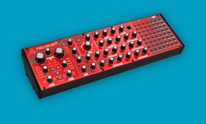 Behringer's semi-modular Neutron synth due in April for $299
