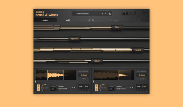 Output's latest plugin lets you make unusual brass and wind hybrids