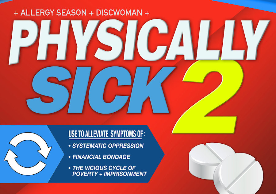 Discwoman and Allergy Season release 44-track charity compilation, Physically Sick 2