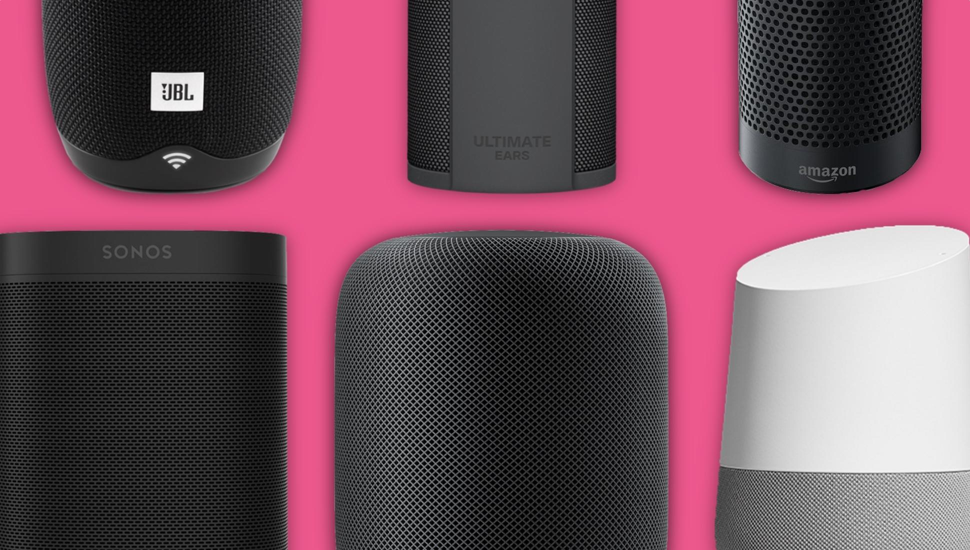 best smart speakers 2018