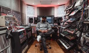 East End Dubs' custom studio is a cutting-edge synth paradise