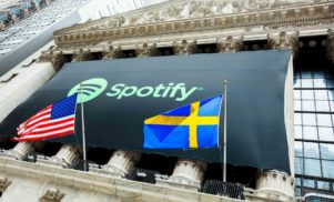 Spotify valued at $26.5 billion after first day of trading