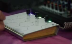 Watch a demo of chair.audio's first instrument at Berlin's Superbooth