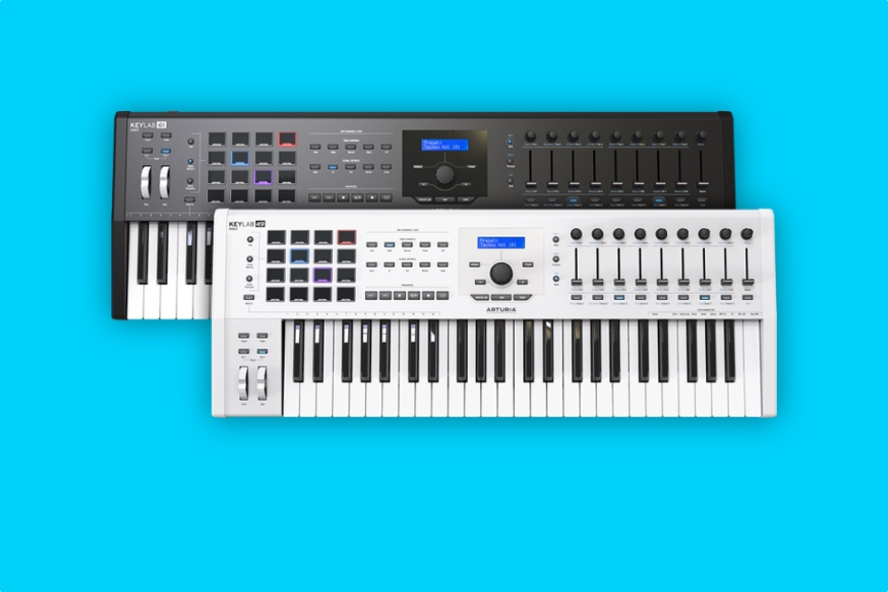 Arturia's KeyLab MKII controllers work with your laptop and modular synth