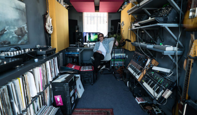 Step inside Richard Fearless' shipping container studio overlooking the Thames