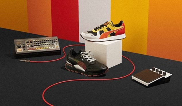 Roland and Puma reveal a new TR-808 inspired sneaker collaboration