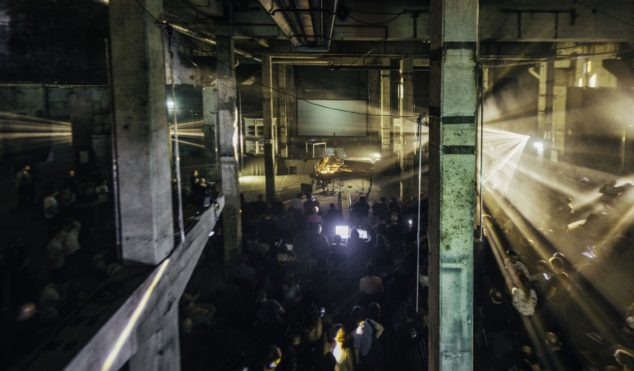 Watch behind-the-scenes footage from Berlin Atonal 2018