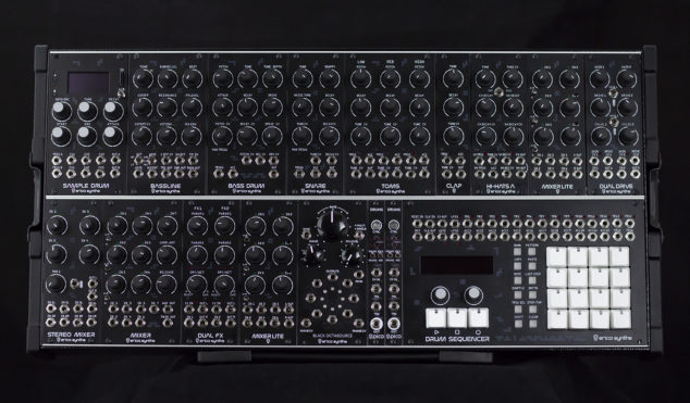 Erica Synths' Techno System is a very expensive modular groovebox