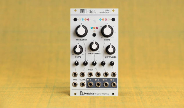 Mutable Instruments refreshes Tides module for Eurorack