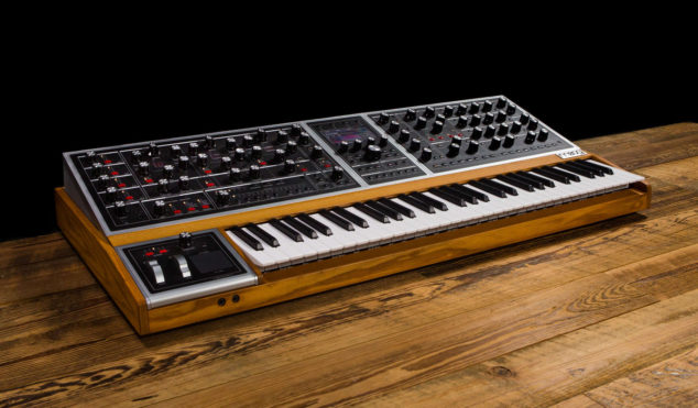 Moog shares first footage of flagship Moog One polysynth
