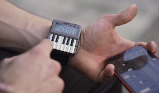 You can crowdfund a cross between a synthesizer and a wristwatch