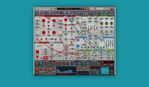 Reason gets its own modular synthesizer, Complex-1