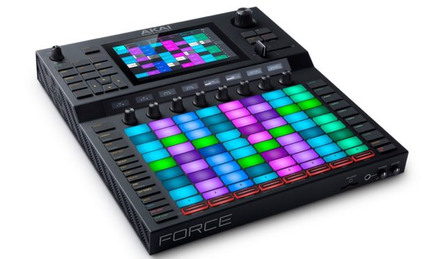 Akai Force is a standalone box for Live-style, laptop-free production