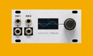 Intellijel's latest 1U Eurorack module is a compact oscilloscope