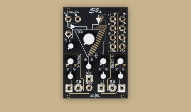 Make Noise unveils new Eurorack filter module, QPAS