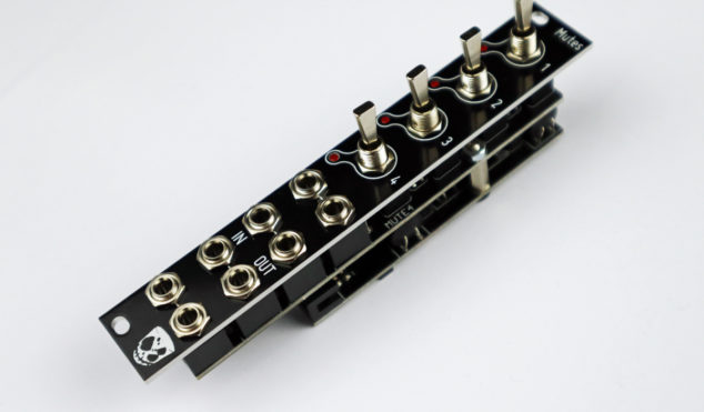 DivKid launches first Eurorack module, Mutes