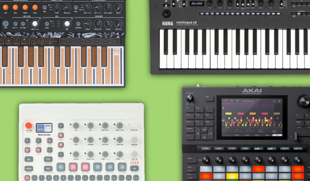 All the synths, controllers and gear we'll be making music with in 2019