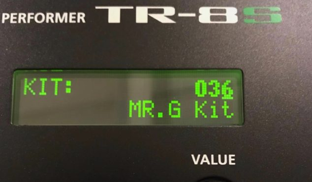 Mr. G distances himself from Roland TR-8S drum kit that uses his name