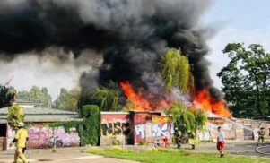 Berlin's Club der Visionaere destroyed by fire