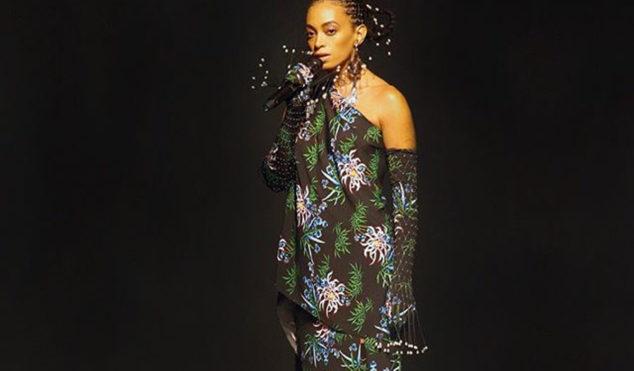 Solange soundtracks Kenzo show at Paris Fashion Week