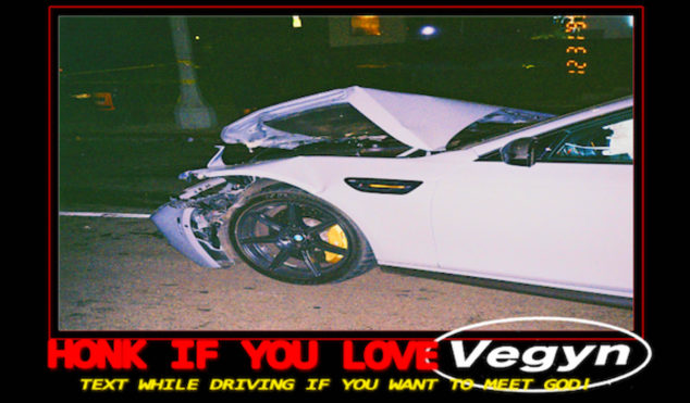 Frank Ocean collaborator Vegyn drops 71-track mixtape, Text While Driving If You Want To Meet God!