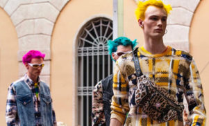 Versace's new menswear collection is inspired by the late Keith Flint