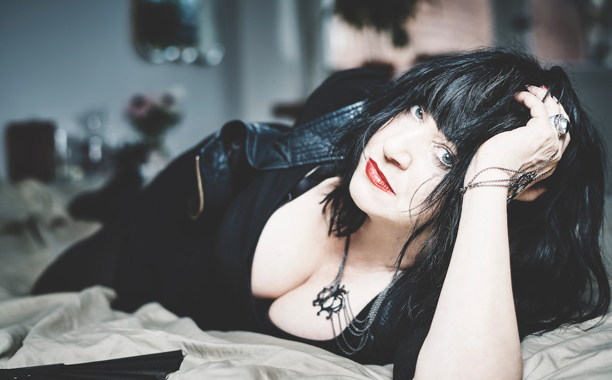 Portrait of Lydia Lunch