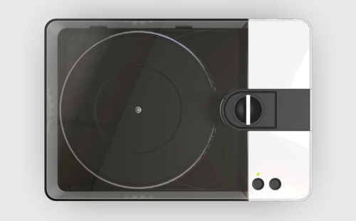 This portable vinyl lathe lets you cut your own records at home