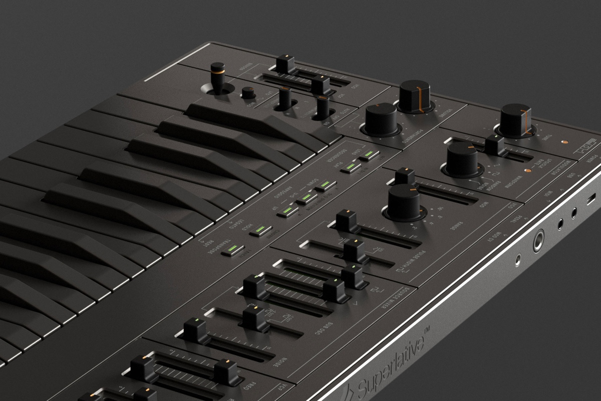 Superlative's rechargeable SB01 synth channels the classic SH-101