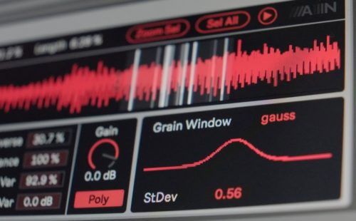Grain Scanner is a new granular synth for Ableton Live