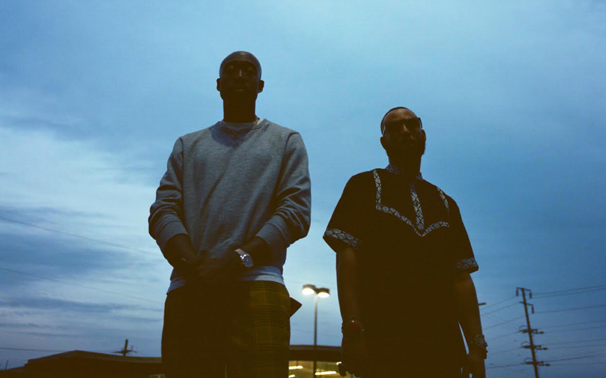Picture of Madlib and Freddie Gibbs