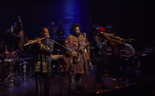 Kamasi Washington performs 'Street Fighter Mas' in this clip from new concert documentary Live at the Apollo Theater