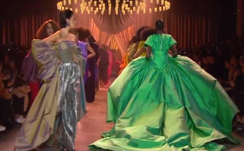 Danny Brown soundtracks Christopher John Rogers at New York Fashion Week