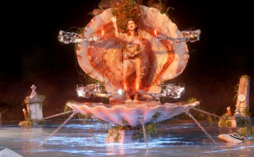 Arca transforms into a mutant goddess Venus in 'Nonbinary'