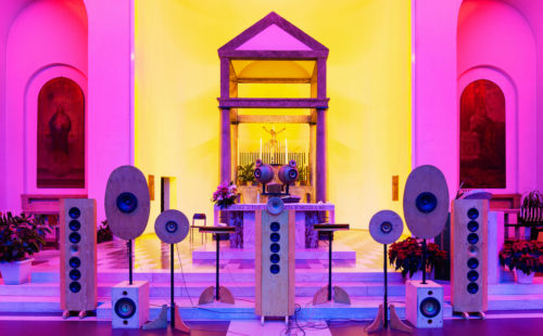 Acusmonium AUDIOR is a bespoke spatial sound projection system