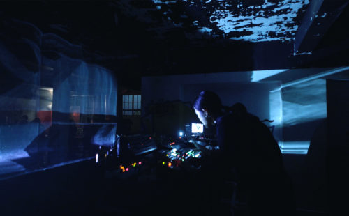 group A & Kat Day present Formwork (live A/V) at MODE