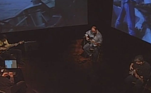 Watch a televised performance of Phill Niblock's G2,44+/x2 from the year 2000