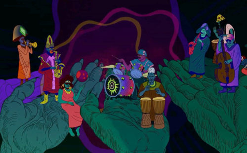 Chad VanGaalen animates the surreal world of Sun Ra Arkestra in 'Seductive Fantasy'