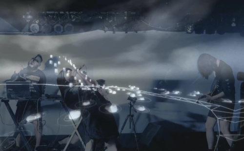 Violent Magic Orchestra perform a secret ritual during ferocious AV performance