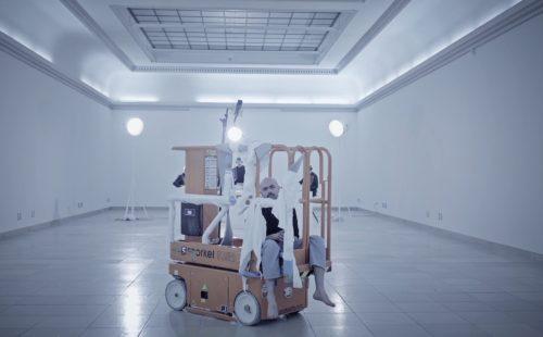 Carl Gari & Abdullah Miniawy perform live at Haus der Kunst, Munich