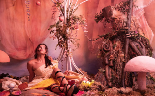 Byulah and Anja Ngozi inhabit a psychedelic wonderland in 'B BRAVE'